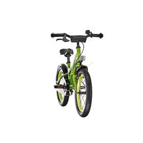s'cool XXlite 16 - Vélo enfant - steel vert